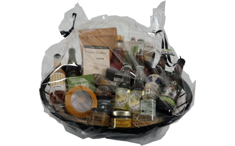 800kr produkter i stor sort zinkbalje indpakket i klar cellofan